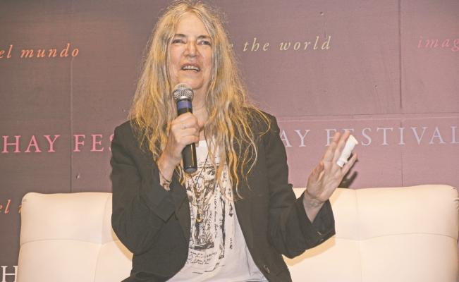 """Sean libres"" dice Patti Smith en el Hay Festival"