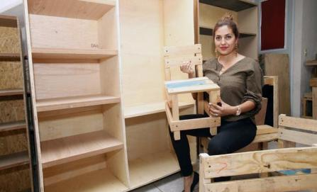 Recimuebles: Transforma la madera reciclada