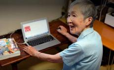 iphone, Masako, Wakamiya, informatica, pasion, PC, 60, 70, Apple, veterana, japoneses