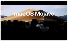 "Apple presenta macOS 10.14 Mojave: con ""Dark Mode"""
