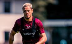 'Chicharito' anota en pretemporada del West Ham