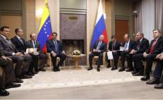 Maduro meets Putin in Moscow