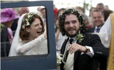 Se casan actores de Game of Thrones