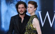 Game of Thrones, Kit Harington, Rose Leslie