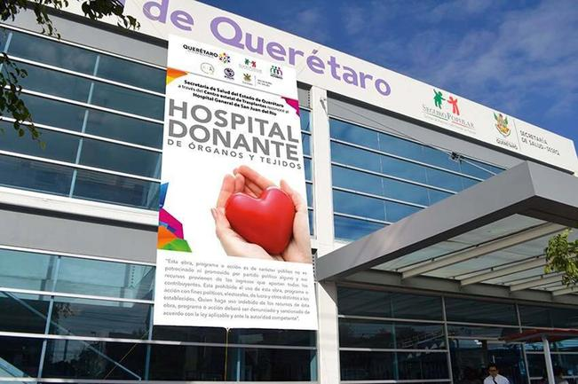 Reconocen a Hospital General por su labor en donaciones