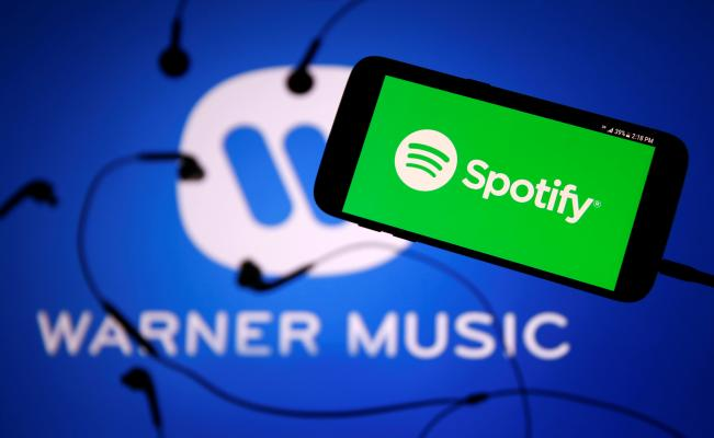 Spotify, Warner Music, música, streaming, regalías