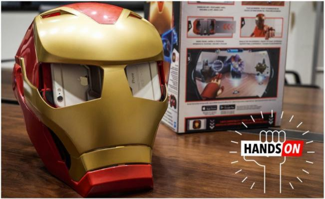 Iron Man, Cultura Geek, Hero Vision Iron Man AR, Casco, Hasbro, Avengers Infinity War, marvel