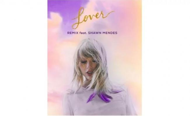"Taylor Swift remezcla ""Lover"" junto a Shawn Mendes"