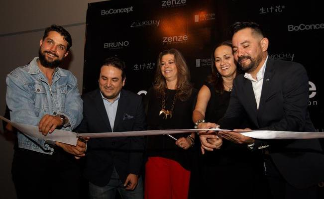 Inauguran design center de Zenze Arte y BoConcept