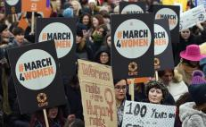 Londres, marchas, mujeres, protestas