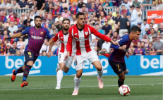 Barcelona deja ir puntos ante el Athletic Club