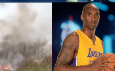Difunden escalofriante video del accidente de Kobe Bryant