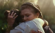 Carrie Fisher revive en Star wars