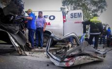 Estado, lugar 10 en muertes por accidentes