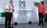 Protesta Paul Ospital como líder estatal del tricolor