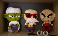 Con crochet, recrean personajes de anime, Star Wars y Dragon Ball